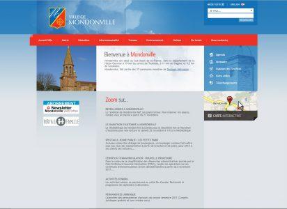 ancienne page d accueil de Mondonville