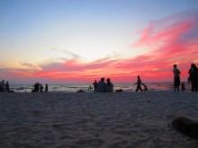 Sonnenuntergang Malpe Beach