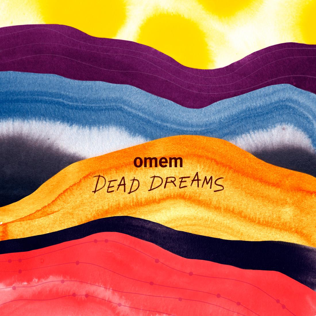Visuel pour le premier EP du groupe de musique parisien OMEM.