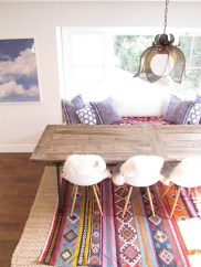 Color and texture inspiration for the dining room that we're about to renovate!