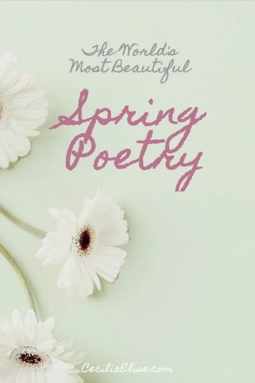 Spring Poetry Cecilia Elsie Wallin