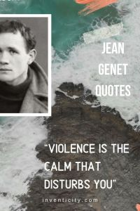 JEAN GENET QUOTES | DREAMING IS NURSED IN DARKNESS | RELAXING QUOTES AND MUSIC