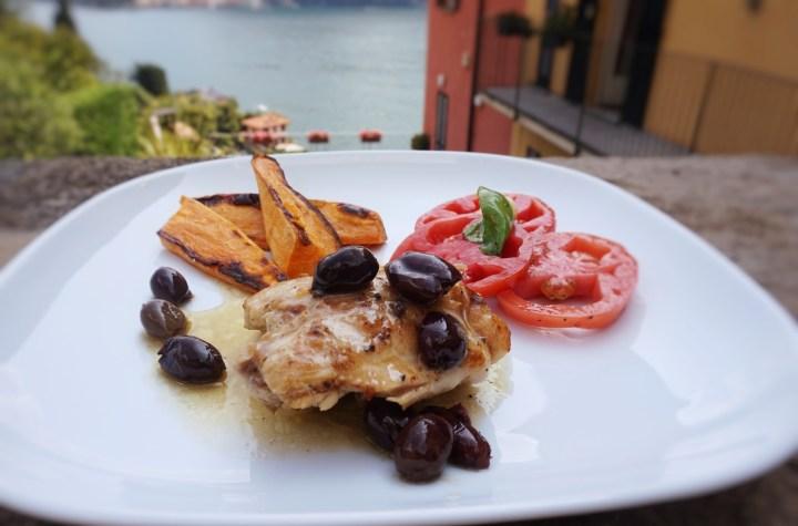 kyckling med oliver sjön