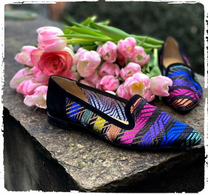 skor och tulpaner