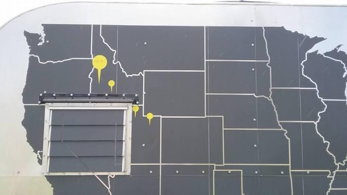 camper map decal