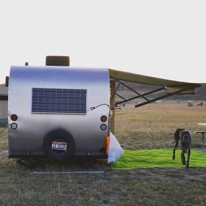 vintage trailer aloha