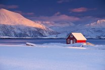 Arctic Sunset. Photo by Antony Spencer