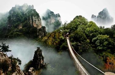 Lu Mountain, China
