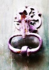 violet flame door knob
