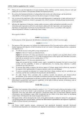 OUTCOME OF PARIS, DRAFT AGREEMENT-page-002