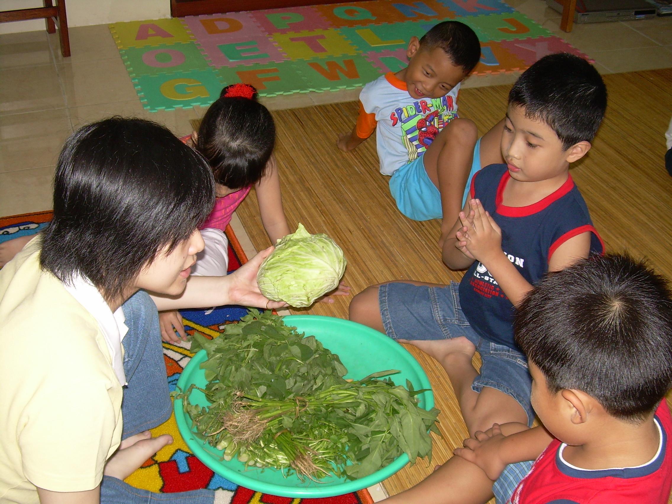 discussion on veggies