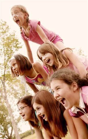 Girls on Camp