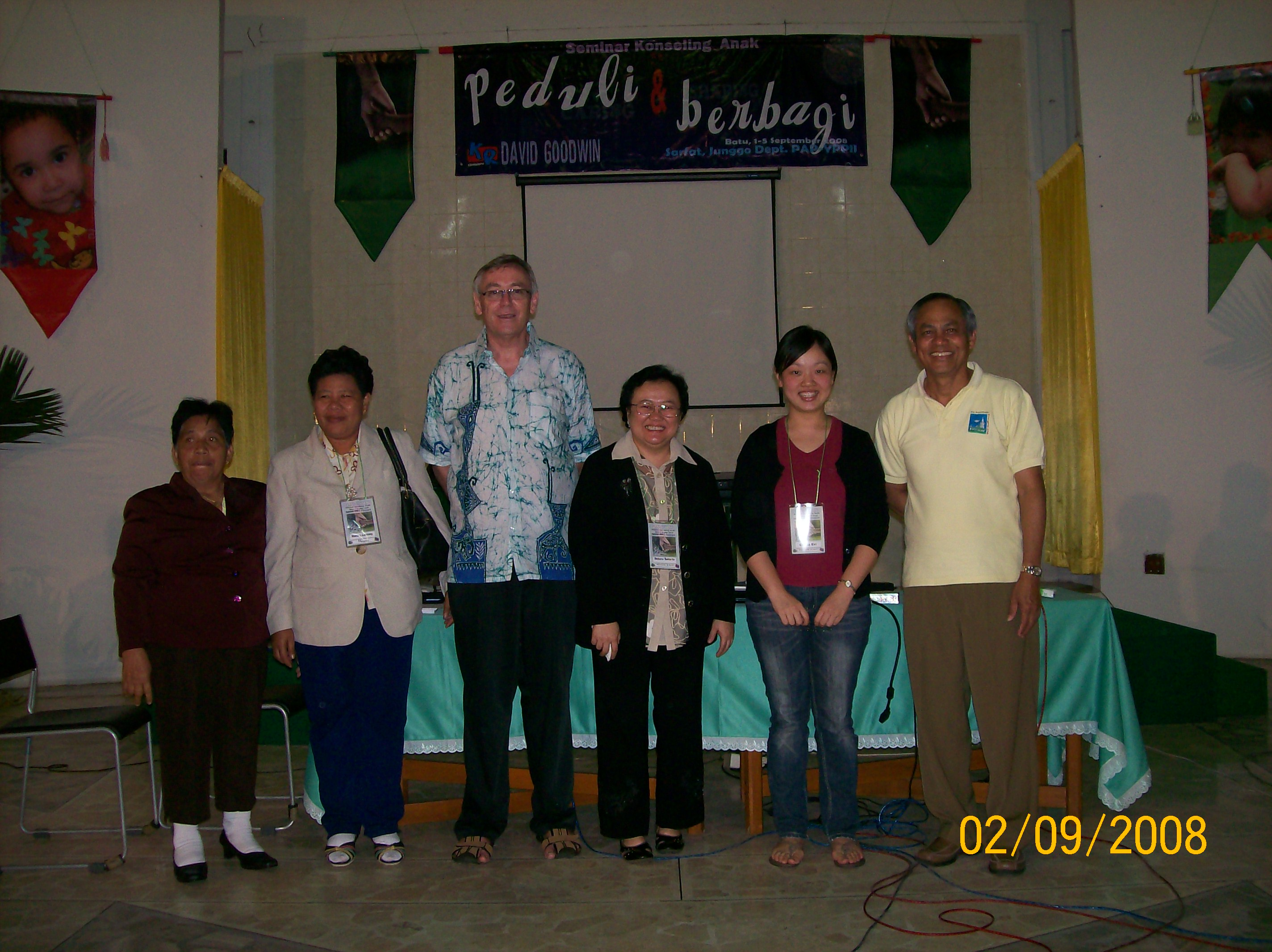 with David Goodwin and other participants