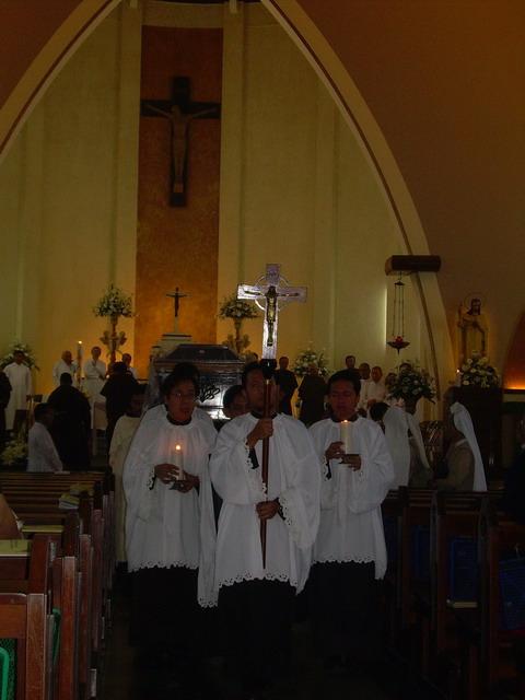 After Requiem Mass