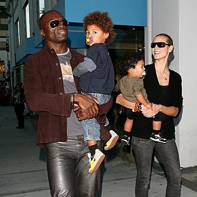 Seal, Heidi Klum and kids