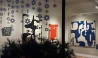 Nuart Gallery Display Windows in December 2014 in Santa Fe, New Mexico