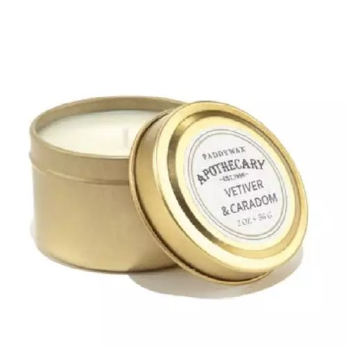 Bougie Paddywax Apothecary Vetivier&Cardamon