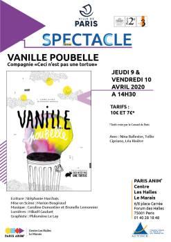 affiche vanille poubelle