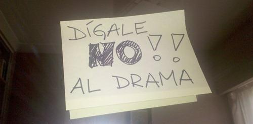 NO al drama