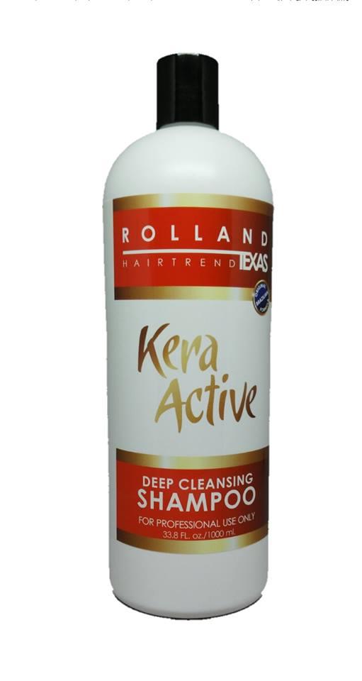 kera active deep cleansing shampoo
