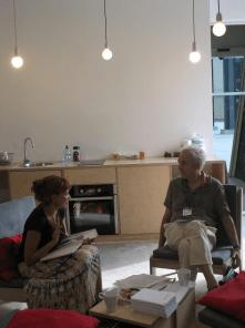Osebni sestanki udeležencev in Christiana Routha