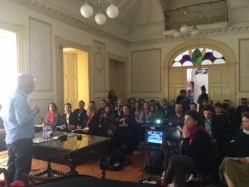 IETM Porto Plenary Meeting 2018 – Creative Europe Showcase: Jindřich Krippner in Ondřej Hrab (CZ).