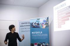 José Rodríguez na Onkraj ustaljenega komuniciranja v kulturi, CzK - Maribor, 17.okt. 2018.