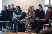 "Onkraj kulturnega modela/ Beyond the Cultural Model"" conference (Ljubljana, 16/10/2018). Foto: Katja Goljat."