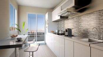 Sleek modern kitchen - Interior Design01