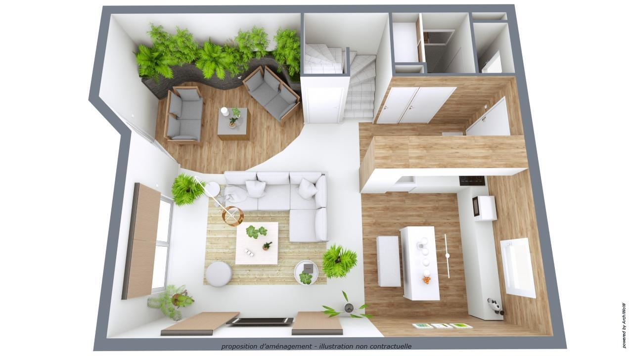 Cr ation de maison 3d en ligne logiciel d 39 architecture for Plan appartement 3d