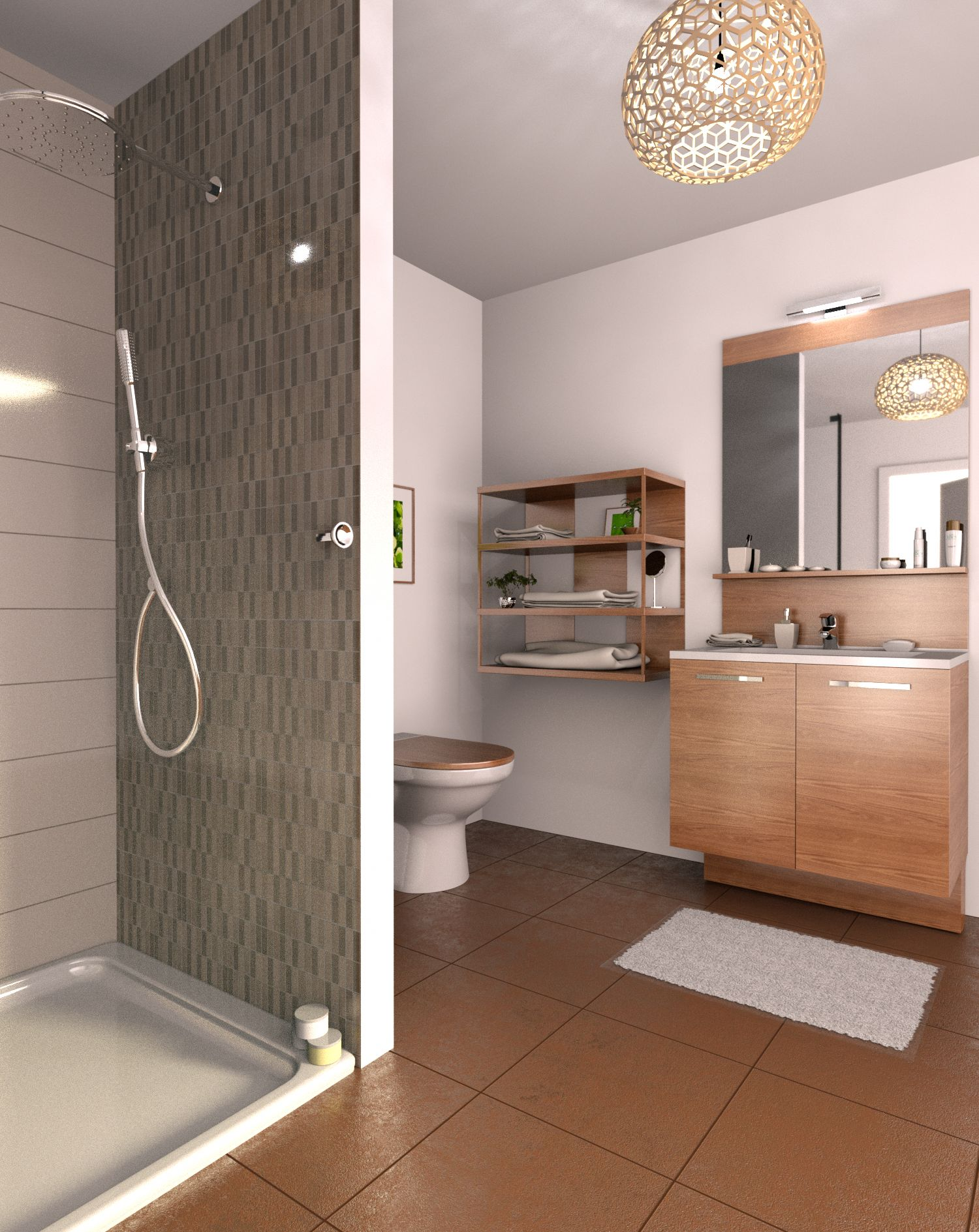 Creation Et Amenagement De Salle De Bain En 3d Cedar Architect