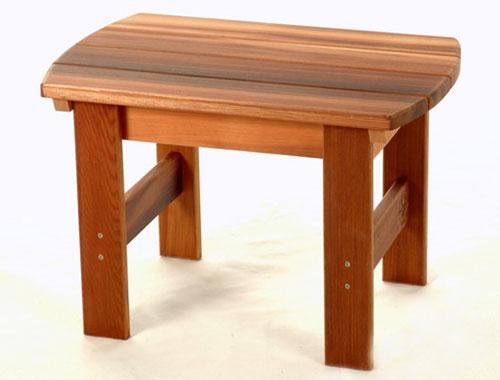 Adirondack Chair Stool Plans PDF Woodworking