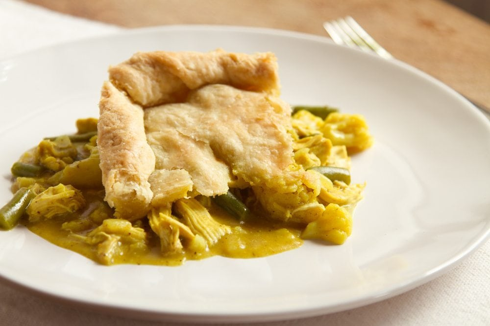 Curry Chicken Potpie