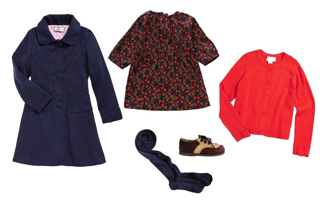 Girls' Ten-Item Wardrobe Autumn & Winter 2015