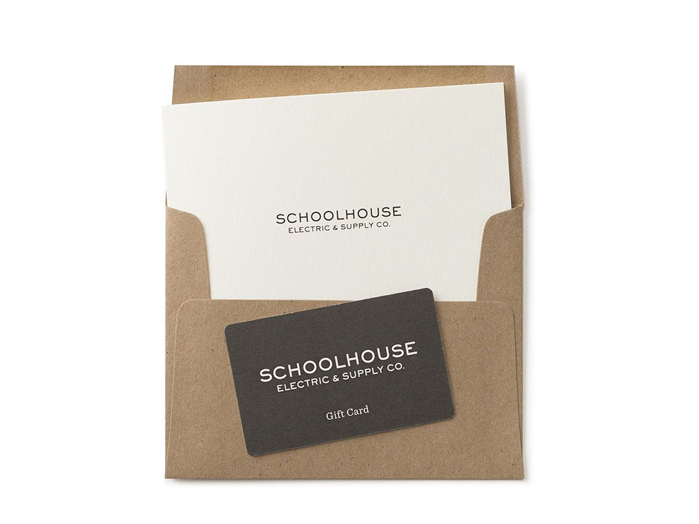 Schoolhouse Electric Gift Card