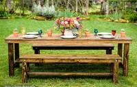 Farm Table & Bench Rentals   San Diego