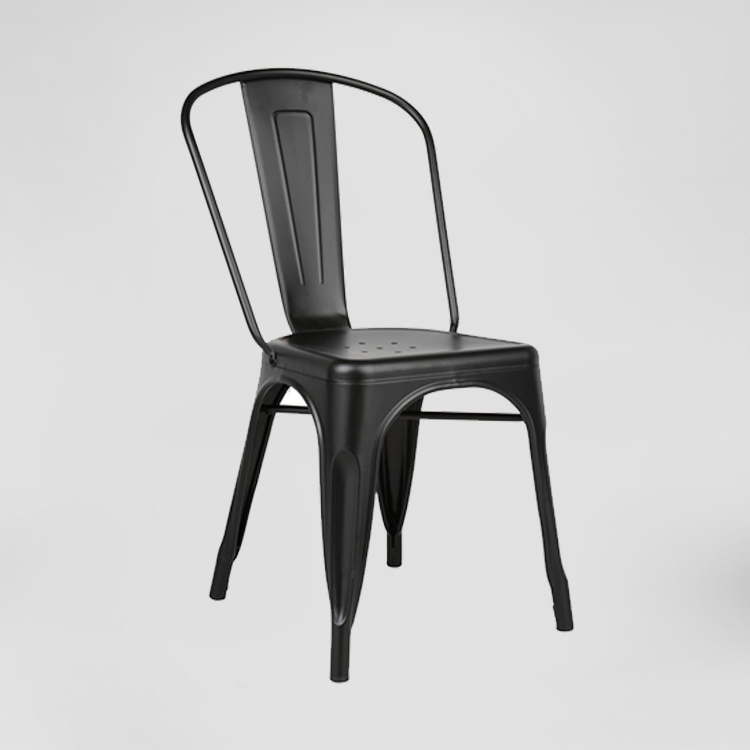 Metal Chairs Black Bistro Chair