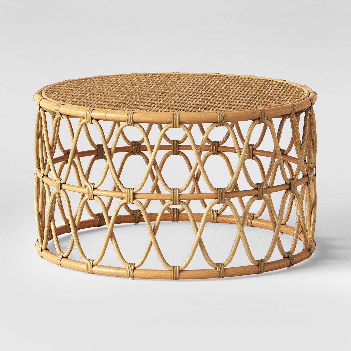 Round Rattan Chair