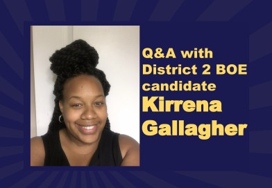 Q&A with Board of Education District 2 candidate Kirrena Gallagher