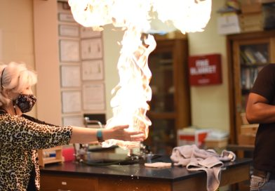 Chemistry on fire