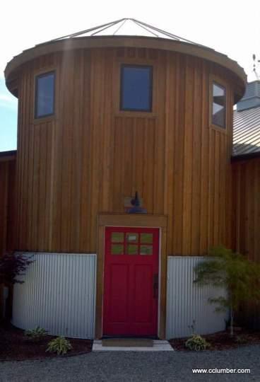 Western Red Cedar Board and Batten Siding