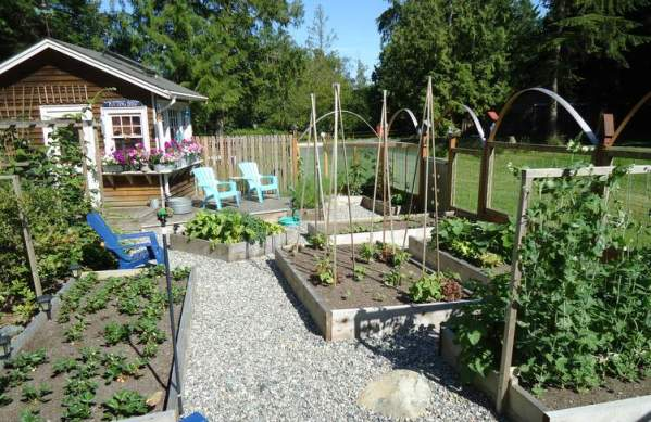 Use care when selecting fastners when building Western Red Cedar Raised Garden Beds