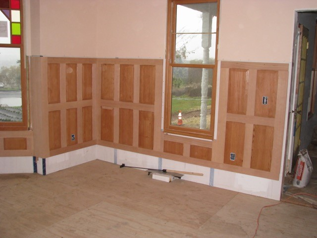 Douglas Fir Wainscoting