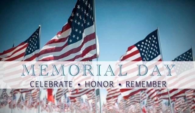 memorial day closure