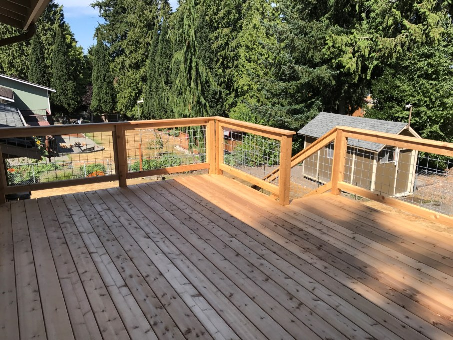 Top Quality Western Red Cedar Decking will perform well for many years