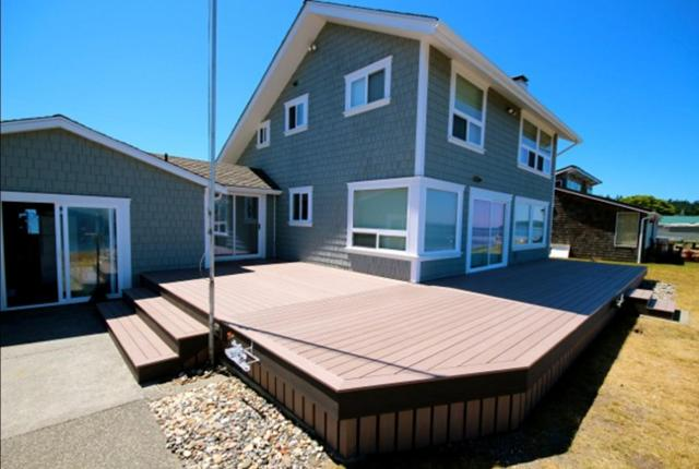 Azek Decking in Brown