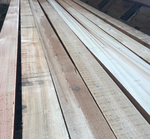 Full Rough Cut Western Red Cedar Lumber