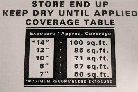 # 1 Western Red Cedar shingle installation exposure guide