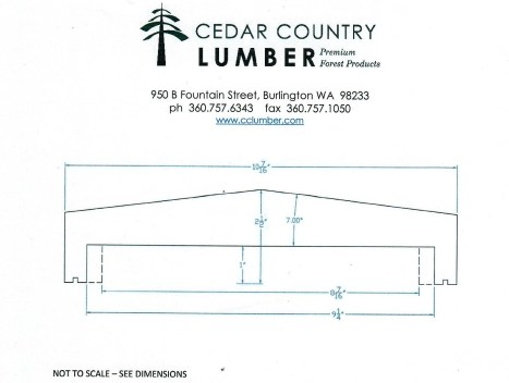 custom milled western red cedar building materials start with a line drawing
