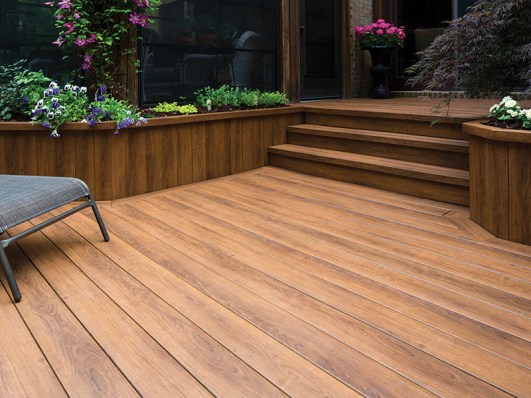 Zuri decking pecan color for sale